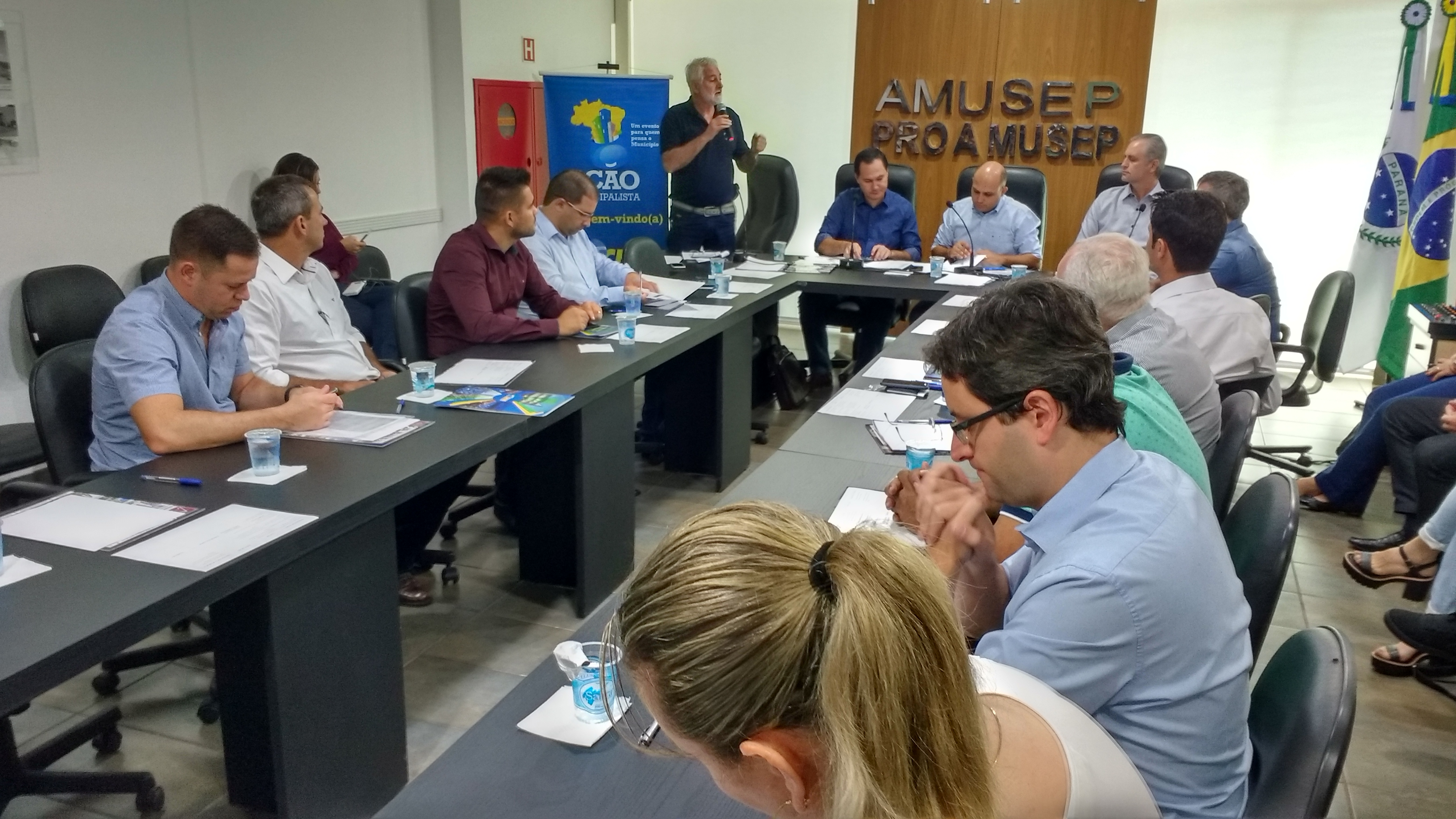 O consultor da CNM, Joarez Henrichs, falou sobre a Marcha Municipalista
