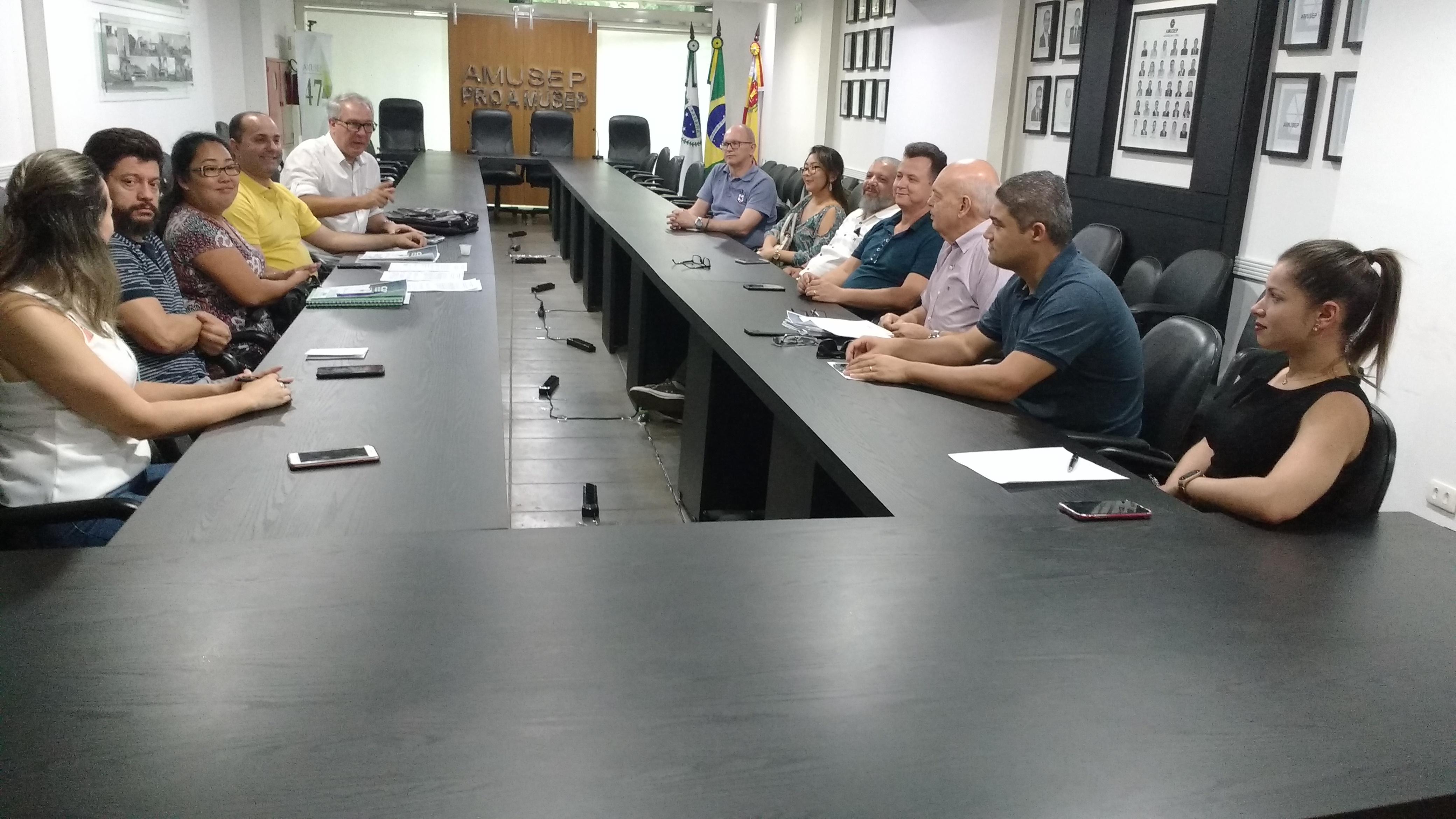 Data da assembleia de constituição da entidade foi definida, durante reunião realizada nesta sexta-feira (14), na sede da Amusep
