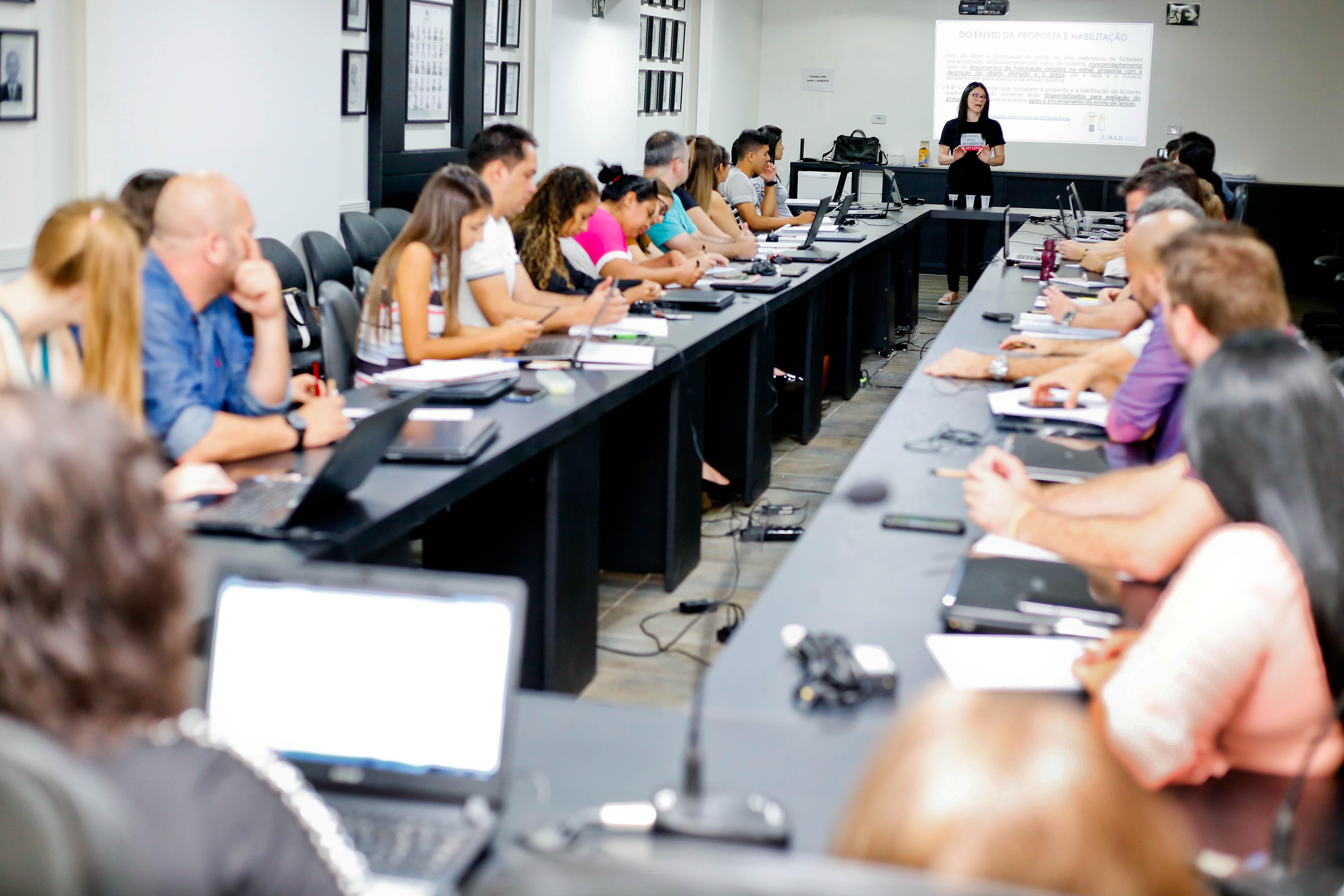 Capacitação foi realizada entre os dias 11 e 13 de novembro, na sede da Amusep