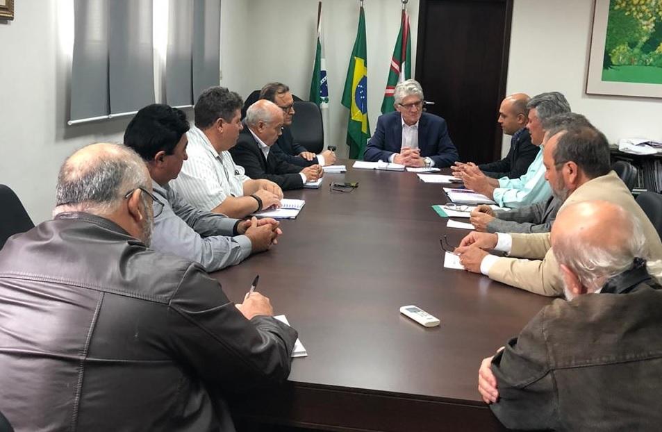 Secretário de Agricultura, Norberto Ortigara, recebeu o Comitê Gestor da Unidade Mista em audiência e garantiu apoio para viabilizar a execução do projeto