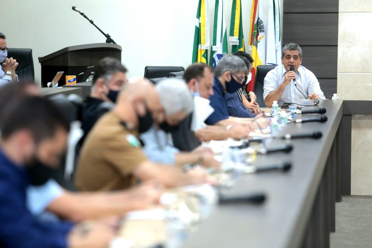 Presidente da Amusep, Romualdo Batista, defende que poder público e iniciativa privada trabalhem de forma organizada e coordenada para vencer o desafio imposto pelo novo coronavírus
