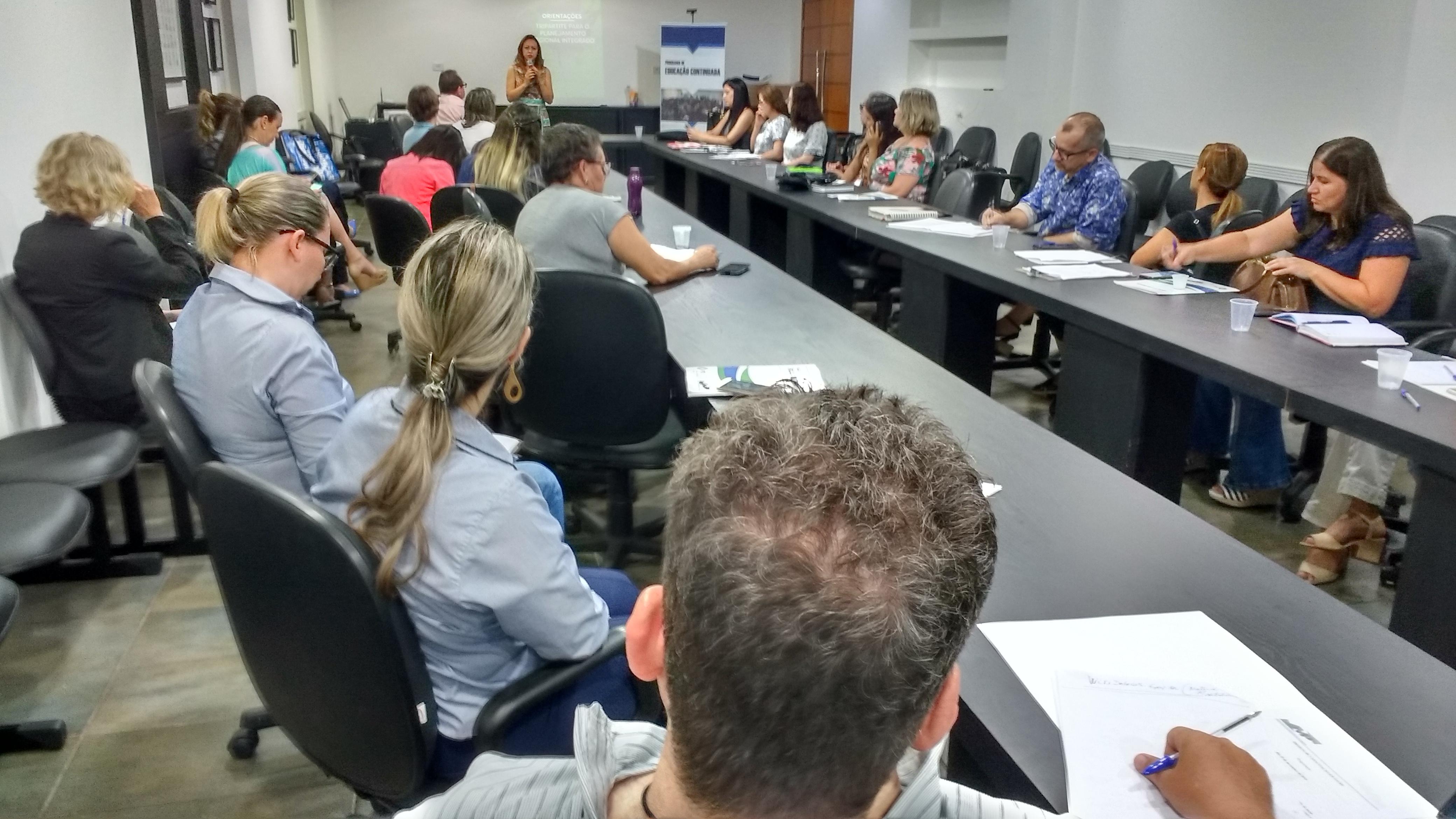 Amusep, em parceria com a AMP e apoio do Cosems, realizou dois dias de capacitação para os técnicos da área da Saúde