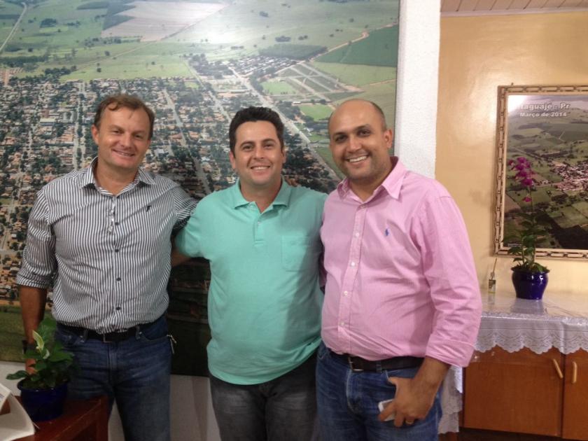 Presidentes da Amusep e Pró-Amusep visitam prefeitos da região