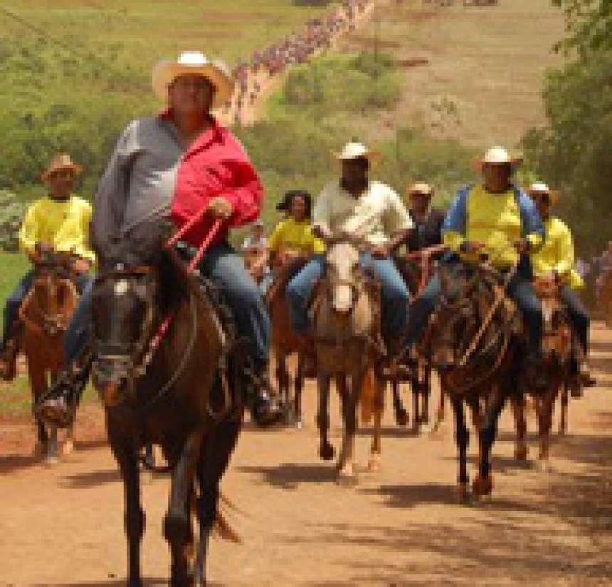 Cavalgada 'Caminho das Águas' deve reunir 1.500 participantes