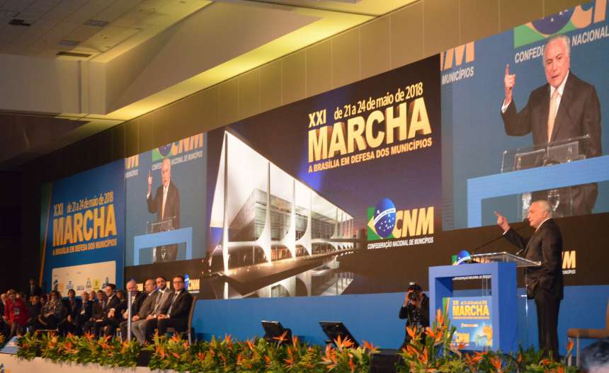 Presidente Temer anuncia comitê sobre encontro de contas