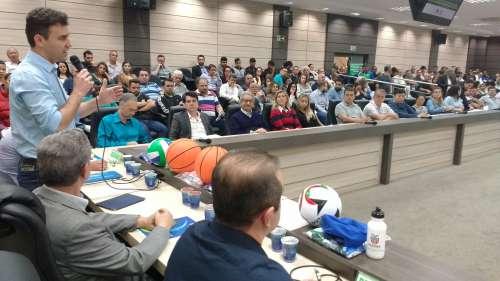 Presidente da Amusep, André Luís Bovo, considerou a reunião esclarecedora e instrutiva - CRÉDITO: Cláudio Galleti