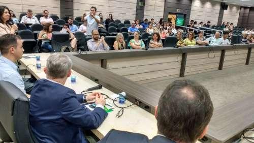 Capacitação reuniu servidores das 30 prefeituras da Amusep e de nove municípios de outras regiões do Estado - CRÉDITO: Cláudio Galleti
